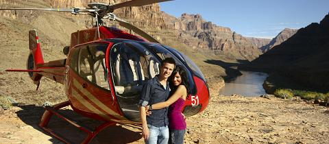 Grand Canyon Landing Tour – Champagne Picnic