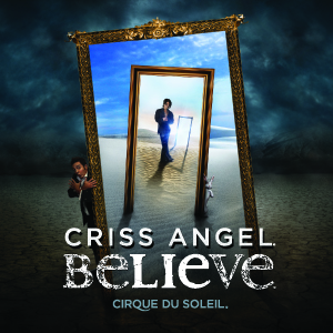 Criss Angel BELIEVE playing at the Luxor Resort and Casino